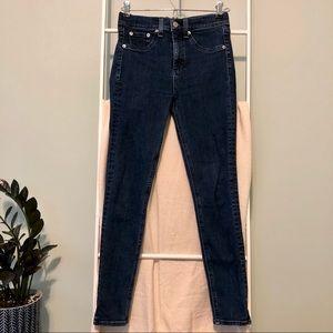 Rag & Bone 10 Inch Capri Jeans